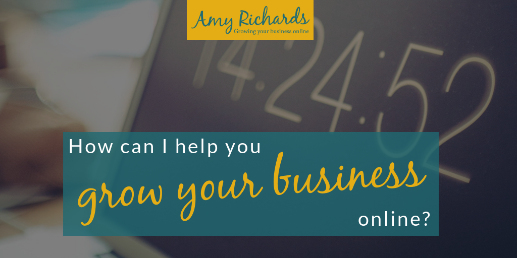 How can I help you to grow your business online?