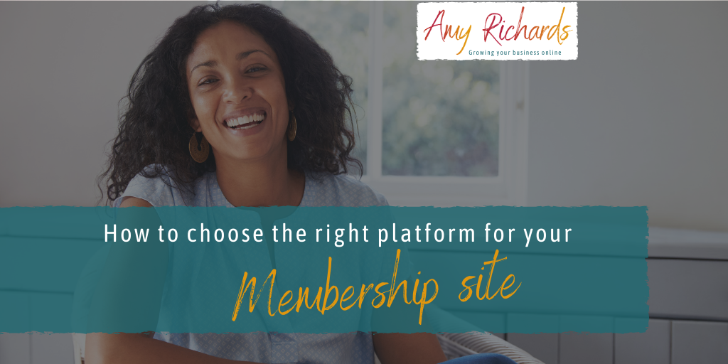 How to choose a platform for your membership site